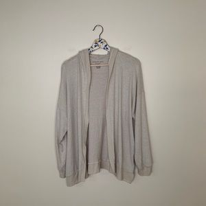 American eagle Plush soft sexy cardigan with hood